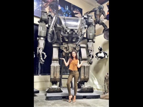 Amy Jackson role in Robo 2.0 revealed