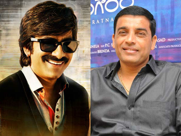 Ravi Teja Walks Out due to creative: Dil Raju