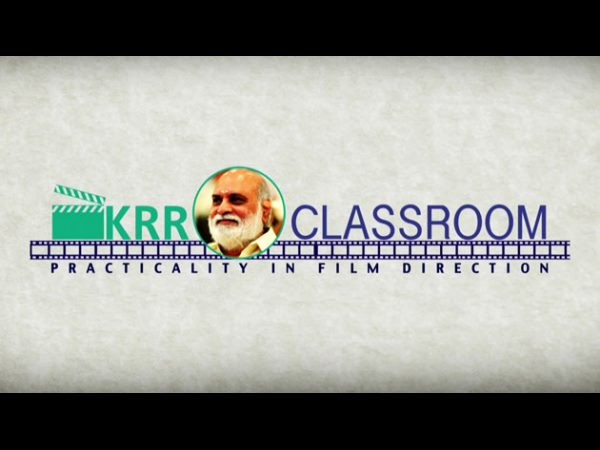 K Raghavendra Rao's Classroom on Youtube!