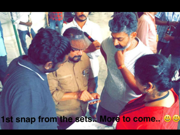 First Snap From Baahubali 2 Sets