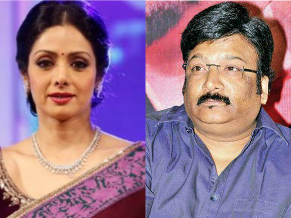 Now Kona Venkat  thriller with Sridevi