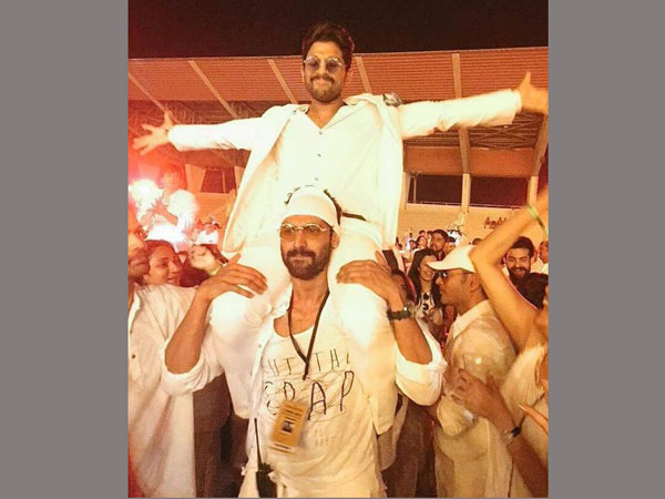 Rana Carried Stylish Star on his shoulders