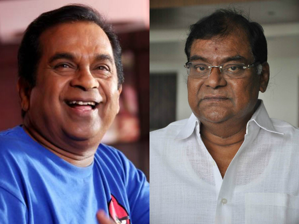 Kota Srinivasa Rao shocking comments on Brahmanandam
