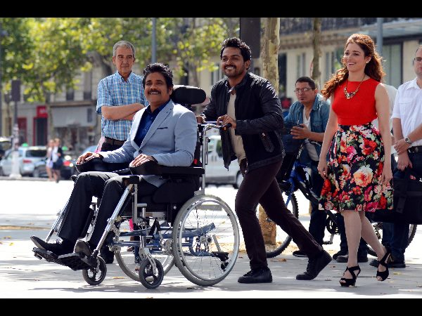 Nagarjuna Oopiri Wheelchair Costs Rs.25 Lakhs