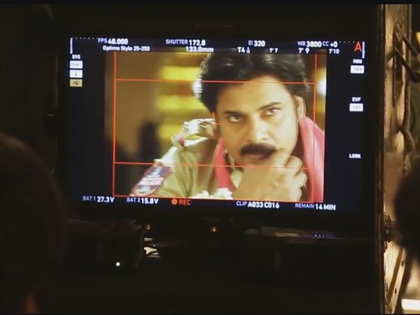 Pawan's Sardaar Gabbar Singh Making Video - 1