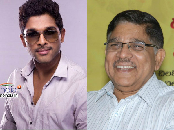 Allu Aravind and Bunny not happy?