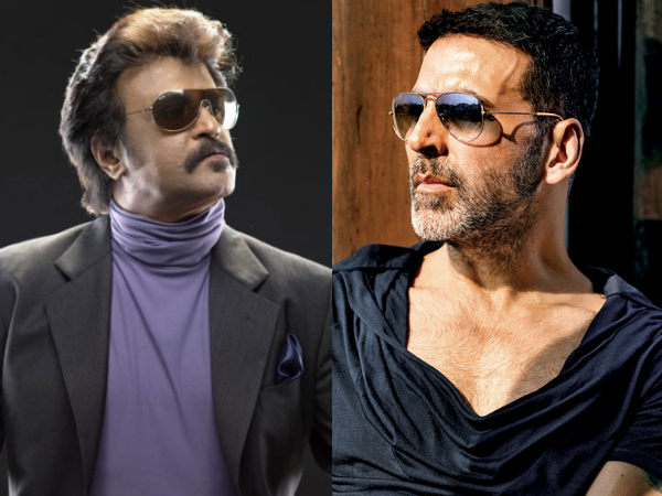 Akshay Kumar very happy to act with Rajinikanth