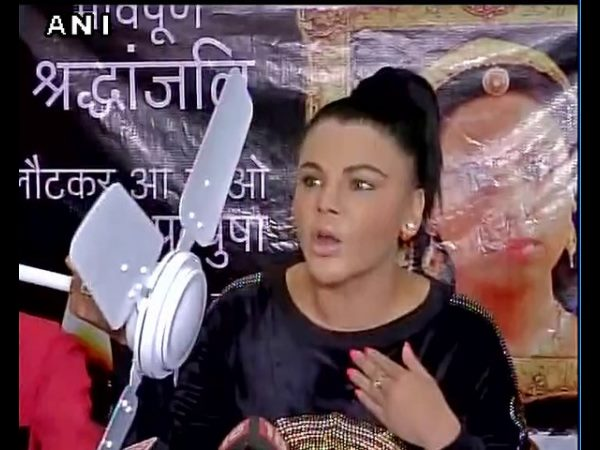 Pratyusha Banerjee suicide: Ban ceiling fans to save India's daughters, Rakhi Sawant requests Modi