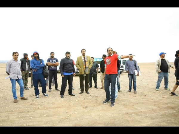 Bala Krishna's Gautamiputra Satakarni Team at Morocco Exclusive
