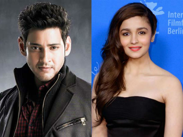 Alia as Heroine in Mahesh'snext movie