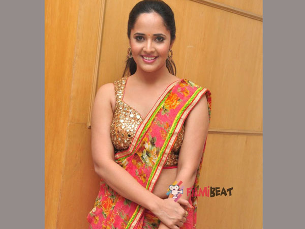 Anchor Anasuya demands 40 lakhs remuneration