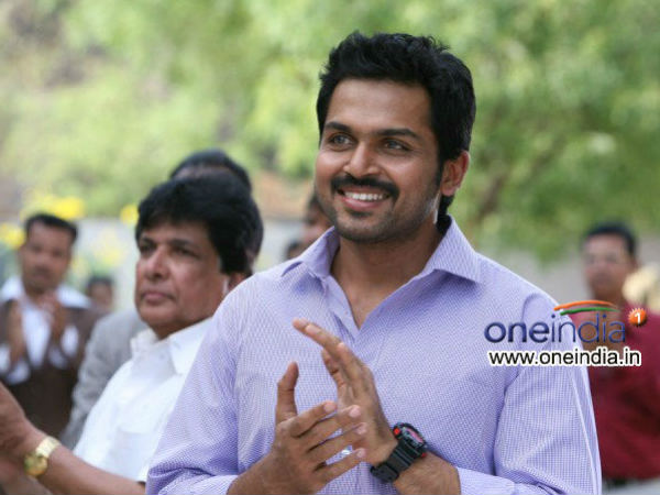 Karthi will reportedly be seen as a pilot in South inDian filim maker Mani Ratnam's next Movie
