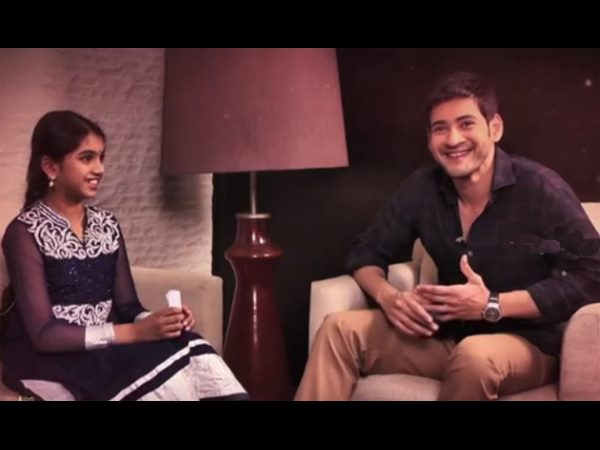 Little Fan Avanthika interviews Mahesh Babu!