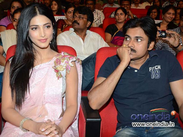 Shruti Haasan to romance Pawan Kalyan again?