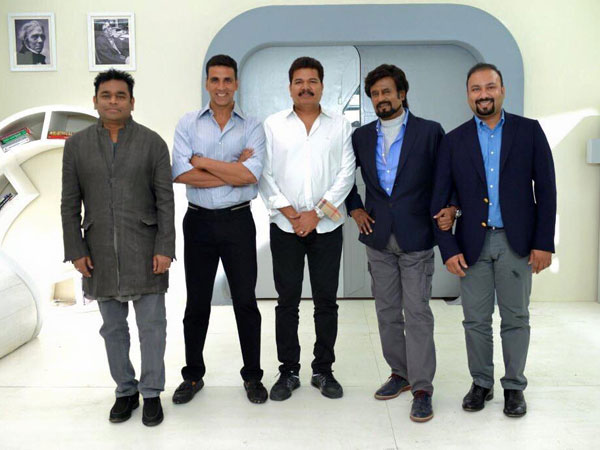 100 Crores Budget for Robo 2.0 Graphic work