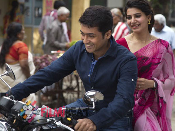 Suriya and Director Vikramkumar movie 24 touches million dollar