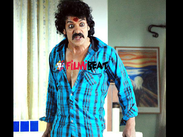 Kannada Star Upendra injured in Kalpana 2 Shooting