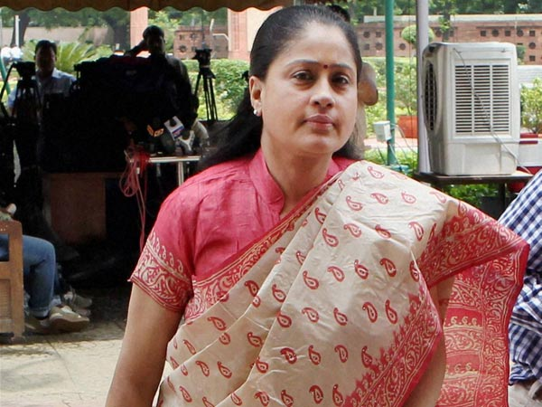 At last Vijayashanthi Coming out of her hibernation