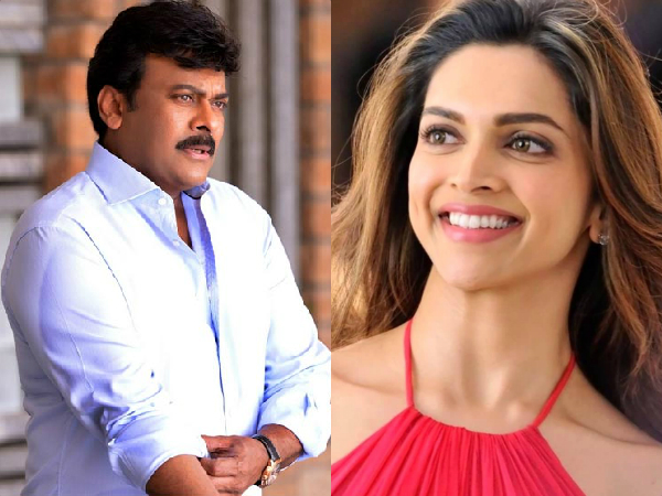 Deepika Padukone to be Chiru's female lead in 150th film?