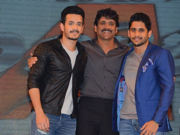 Nagarjuna is one happy dad with his son's love story
