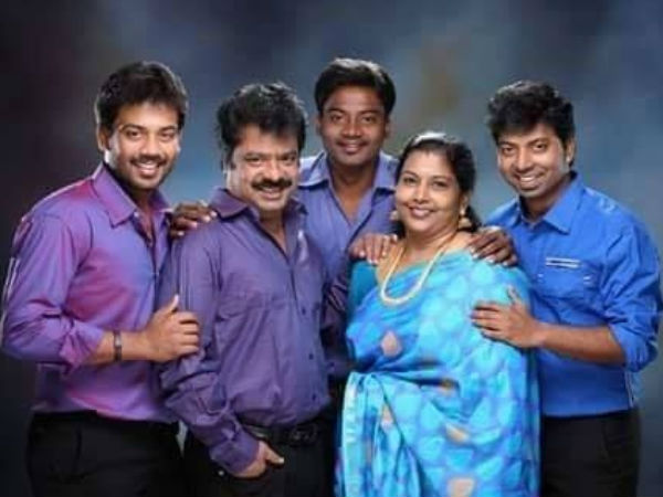 Actor Pandiarajan's son arrested