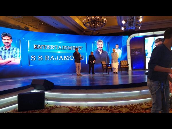 Rajamouli named Indian of the Year (Entertainment)