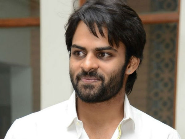 Sai Dharam Tej following three rules