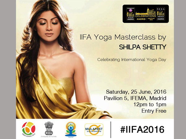 Shilpa Shetty to conduct yoga class in Spain for IIFA