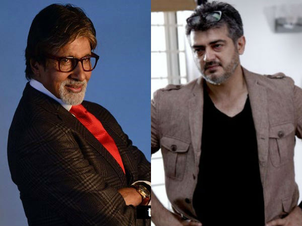Ajith Kumar to team up with Big B Amitabh Bachchan in his next