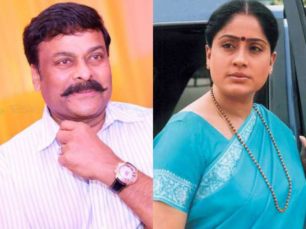 Vijaya Shanthi Approached For Chiranjeevi 150?