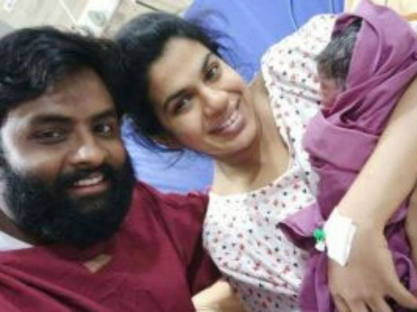 Hema Chandra and Sravana Bhargavi blessed with a Baby Girl