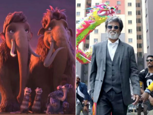 Rajinikanth's Kabali: Tribute To Thalaivar from Ice Age:5 gang