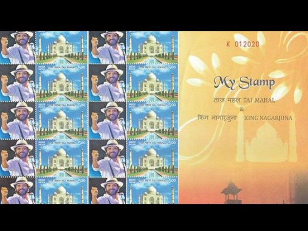 Nagarjuna's collectable postal stamps