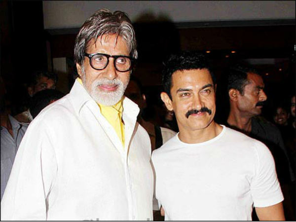 Amitabh and Aamir Khan in one film for the first time