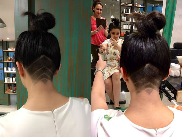 Charmme Kaur Buzzed It Off To Become Trendsetter with UnderCut