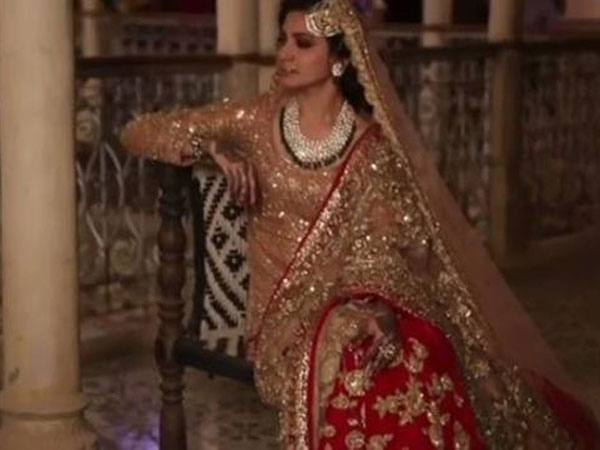 "Anushka Sharma talks about her 17kg lehenga for a song in ""Ae Dil Hai Mushkil"""