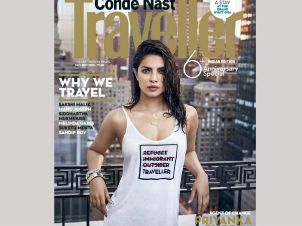Aagazine cover featuring Priyanka Chopra 'insensitive' to refugees
