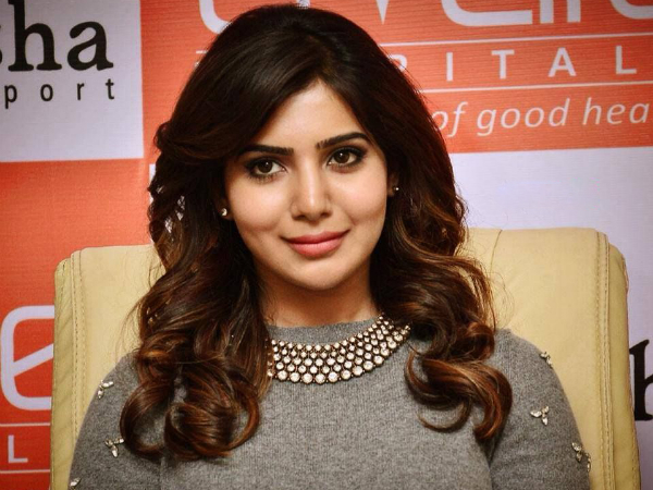 Samantha wishes all the best to Chaitu