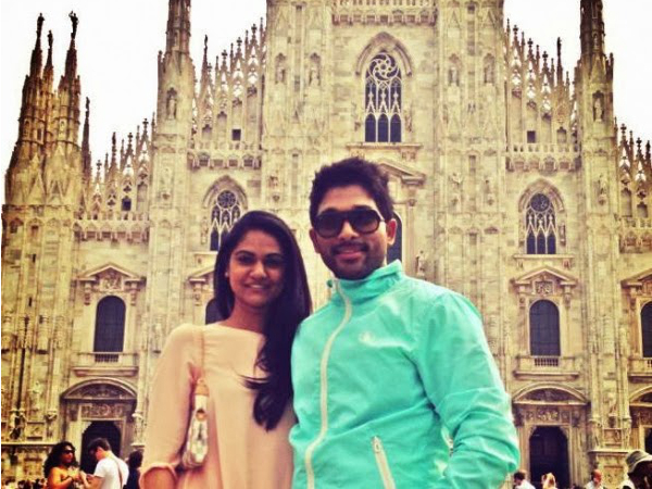Allu Arjun, Sneha Blessed with Baby Girl