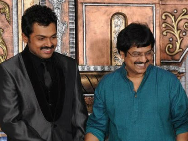 I don't want share in that Rs. 500 crore Vivekh: Tweets Karthi