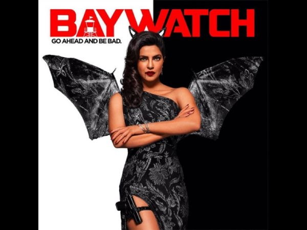 Priyanka shared a special Halloween poster of her 'Baywatch'