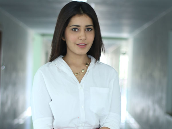 Rashi Khanna auditioned for Sukumar's film!