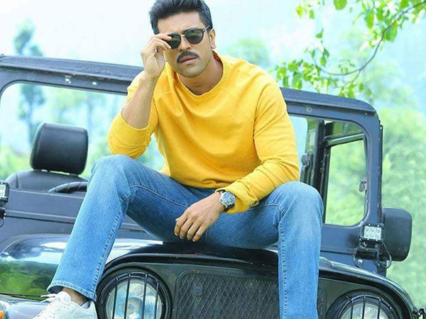 Ram Charan's next film with Sukumar to be a romantic flick