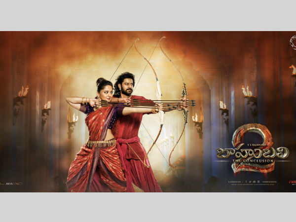 Bahubali-2 poster released in social media by SS rajamouli