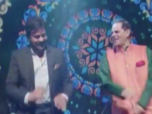 Chiranjeev, Ranveer Singh dance steps with Subbirami Reddy in Marriage Function