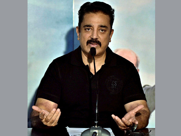 Chennai cops caught on camera: Kamal Haasan tweet video