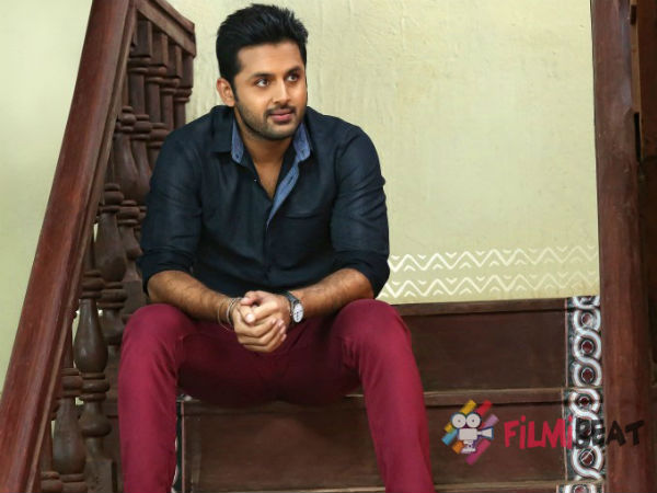 Arjun as villain in Nithin's movie