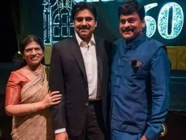chiru wife sureka has invited pawan kalyan to Khaidino150 Prerelease event