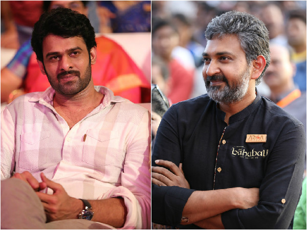 Baahubali:Rajamouli thanks to Prabhas