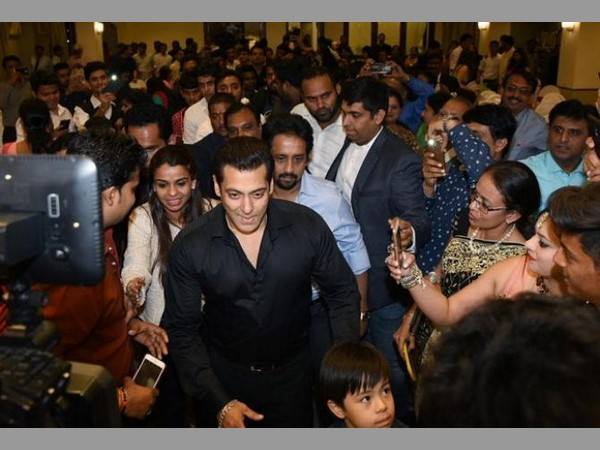 Super star Salman Khan Attends the Wedding of His Driver's Son